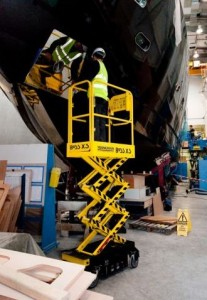 Boss X3 scissor lift