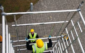 Boss Cam-Lock Advance Guardrail Scaffold Tower Hire