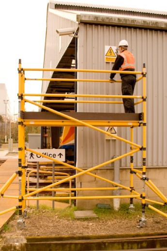 GRP scaffold towers