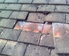 Scaffold towers to repair roof tiles
