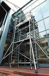 climba scaffold tower hire