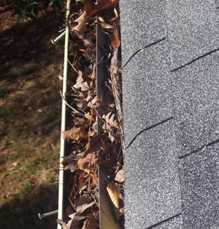 scaffold towers for cleaning gutters