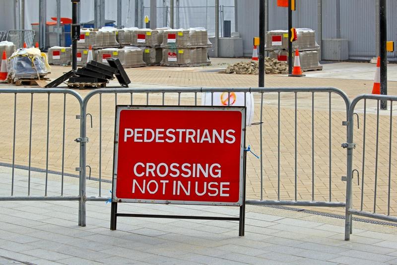 Temporary Pedestrian Barrier Hire Crowd control