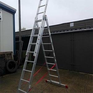 3m combination ladder hire