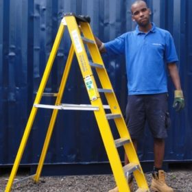 GRP Step Ladders Hire