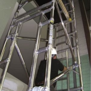 Lift Shaft Scaffold Tower Hire